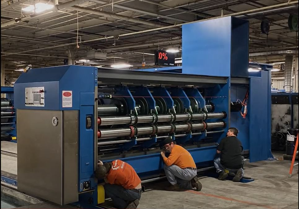 Chicago Facility Adds Apstar Rotary Die Cutter to its Arsenal